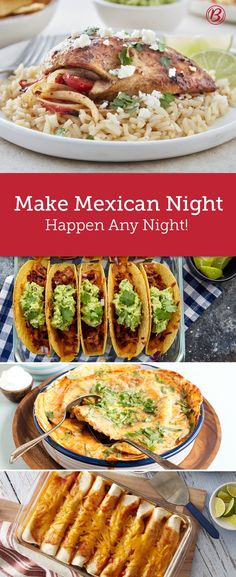 The Best, Easiest Mexican Night Meals Tired of the same ol' dinner routine? Spice up your weeknight with these 10 Tex-Mex meals that go all in on flavor without much effort. Mexican Cooking, Mexican Food Recipes, Dinner Recipes, Dinner Ideas, Meal Ideas, Food Ideas, Carnitas, Beef Recipes, Cooking Recipes
