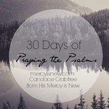 30 Days of Praying the Psalms