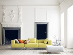 OHIO Lounge Sofa Mittelteil Softline Filz
