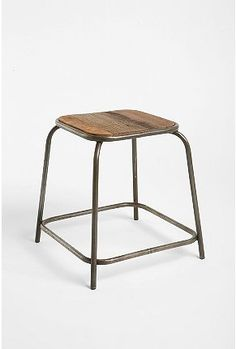 Stool, $89. Would love to pair with a small wooden table on the front or back porch.