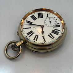 1890's Tiffany & Co. Nickle Pocket Watch
