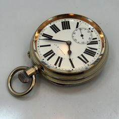 1890's Tiffany & Co. Nickle Pocket Watch