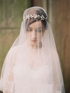 Veiled Incredibly: Liv Hart Bridal 2014 | OneWed
