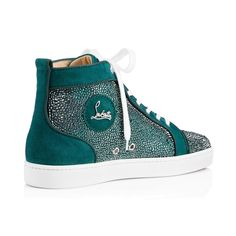 Louis Strass Men's Flat Forest Suede / Christian Louboutin