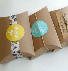 These Reusable Kraft Paper Gift Boxes are Ideal for DIY Gift Wrapping #marketing trendhunter.com