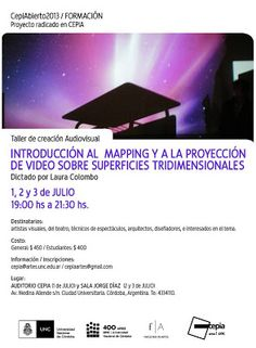 CePIA / Taller de Video Mapping