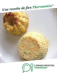 Flan carottes courgettes par vabatao. Une recette de fan à retrouver dans la catégorie Accompagnements sur www.espace-recettes.fr, de Thermomix<sup>®</sup>.