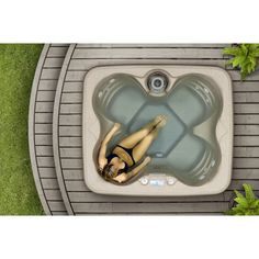 instaspa inflatable portable whirlpool hot tub spa with cover hot tubs and tubs - Wayfair Hot Tub
