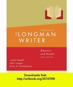 Longman Writer Rhetoric, Readerd Research Guide, Brief Edition Value Pack (includes Study  for Grammar and Documentation  MyCompLab Student Access  ) (9780205654697) Judith Nadell, John A Langan, Eliza A. Comodromos , ISBN-10: 020565469X  , ISBN-13: 978-0205654697 ,  , tutorials , pdf , ebook , torrent , downloads , rapidshare , filesonic , hotfile , megaupload , fileserve