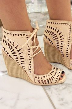 Rodillo Wedges by Jeffrey Campbell