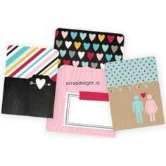 Simple Stories | Simple Stories Love Sn@p!; Memorabilia Pockets | Scrapdelight Scrapbookwinkel