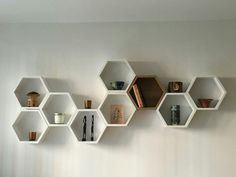 New Bathroom Storage Cupboard Bookshelves 41 Ideas Cupboard Storage, Wall Storage, Bathroom Storage, Honeycomb Shelves, Hexagon Shelves, Box Shelves, Display Shelves, Shelving Units, Shelf Display