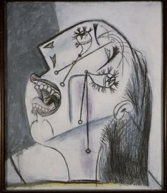 Cabeza de mujer llorando (I). Postscripto de «Guernica»