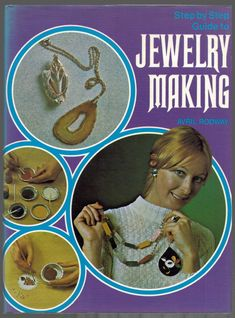 1973 Step by Step Guide to Jewelry Making by BooksbyRetrofanattic