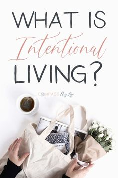 What is intentional living really? Plus, how it could potentially change your life! If you've seen everyone talking about intentional living but are wondering what all the hype is, you're not alone! Check out this post to see if intentional living could b Self Development, Personal Development, Leadership Development, Live For Yourself, Improve Yourself, Image Positive, Stress, Mindful Living, Slow Living