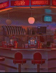 "Retro Vintage sophieexholden: ""Old school American vibes "" - Diner Aesthetic, Aesthetic Vintage, Aesthetic Photo, Aesthetic Pictures, Retro Wallpaper, Aesthetic Iphone Wallpaper, Aesthetic Wallpapers, Orange Wallpaper, Screen Wallpaper"