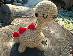 Dash the Happy Dino by WyandotteWears on Etsy, $16.00