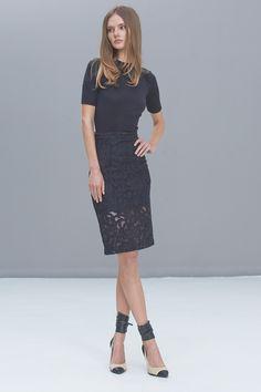 Alexis - Cesar Lace Pencil Skirt