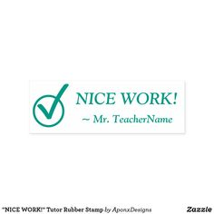 """ Tutor Rubber Stamp created by AponxDesigns. School Teacher, Motivational, Stamps, Positivity, Student, Messages, Education, Nice, Seals"