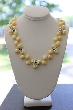 Handmade freshwater pearl and Hill Tribe silver necklace by Susan Pauls. (sold)