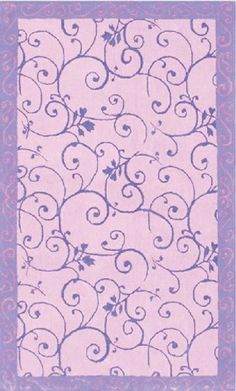 Purple Area Rugs For Kids