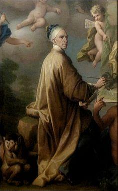 Paolo de Matteis · Autoritratto · 1714 · Museo di Capodimonte · Napoli