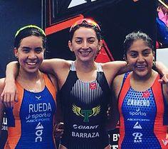 Felicidades campeonas! #Triatlón #Monterrey #2017Adriana Barraza Lizeth Rueda y Adriana Carreño #TriMonterrey #triathlon #triathlete #swimbikerun #taymorylife #taymory