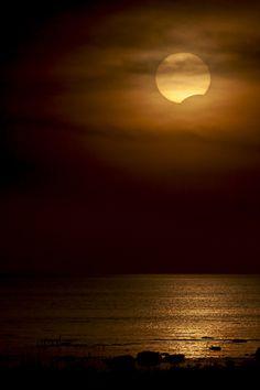 Luna solitaria...