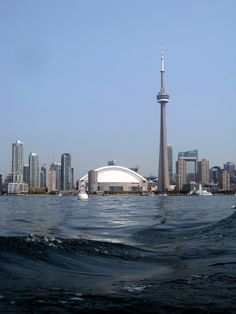 TORONTO 2013 - Skyline form the lake...
