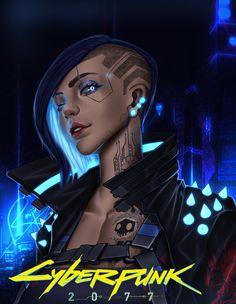 What Is Cyberpunk, Cyberpunk Girl, Cyberpunk Character, Cyberpunk 2020, Cyberpunk 2077 Trailer, Video Games Funny, Pokemon Cosplay, Female Character Design, Sci Fi Characters