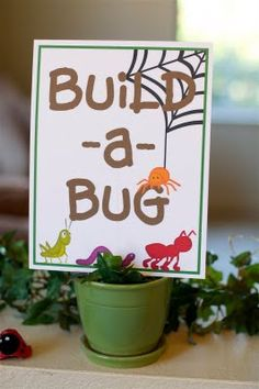 sugartotdesigns: Bug Birthday Party Kit {featured on Creative Juice}