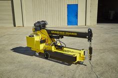 S1 Model Smart-Rig Crane compact. Mini crane is narrow to fit through standard doorway entry ways and aisles. Easy to transport in confined spaces and limited access areas indoors or outdoors.