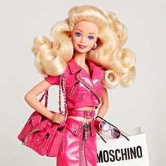 Big Hair Friday - Barbie Girls at Moschino