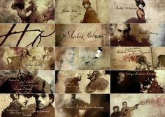 Great Interview (with clips) about the design of Sherlock Holmes opening/closing credits by Prologue & Danny Yount