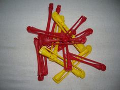 Goody Perm Rods  Lot of 15 Rods  1970's by SassySisterSalvage