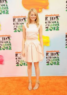 Emma Stone - Nickelodeon's 25th Annual Kids' Choice Awards - Arrivals