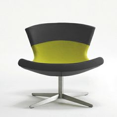 Jet - Swivel chair by Busk & Hertzog for Halle