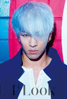 Taeyang of Big Bang Dresses Colorful For Look' Photo Shoot Choi Seung Hyun, Big Bang, Daesung, Hip Hop, Bigbang Members, G Dragon Top, K Fashion, Fiction, Look Magazine