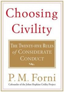 Choosing Civility (thought provoking)