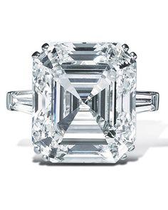 Asscher-cut Diamond Engagement Ring from Graff