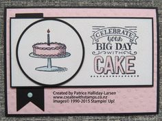 Create With Stamps - Patrice Halliday-Larsen, independent Stampin' Up! Demonstrator