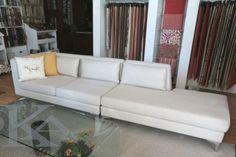 Canapea SOHO. White sofa.