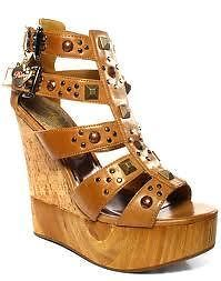 Womens-PASTRY-Carmen-Camel-Brand-NEW-Platform-Sole-with-Stone-Beads