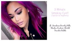 Quick & Easy Smokey Eye Tutorial For Beginners Ft ABH Shadow Couture | W...