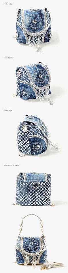 Cool Gold/Sliver fashion ladies handbag designer weave style tassel women shoulder bags PINEE brand name
