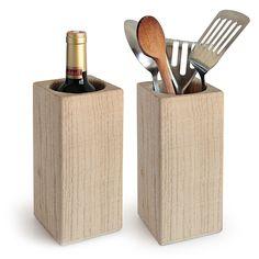 Knife Block, Html, Wood Ideas, Cold, Oak Tree, Dekoration