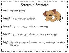 Stretch-a-Sentence Poster