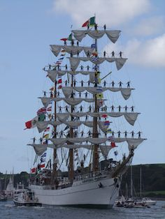 Tall Ship visits Falmouth