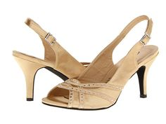 Annie Vaile Gold Satin - Zappos.com Free Shipping BOTH Ways
