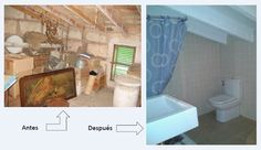 El antes y después de la reforma de un baño en suite